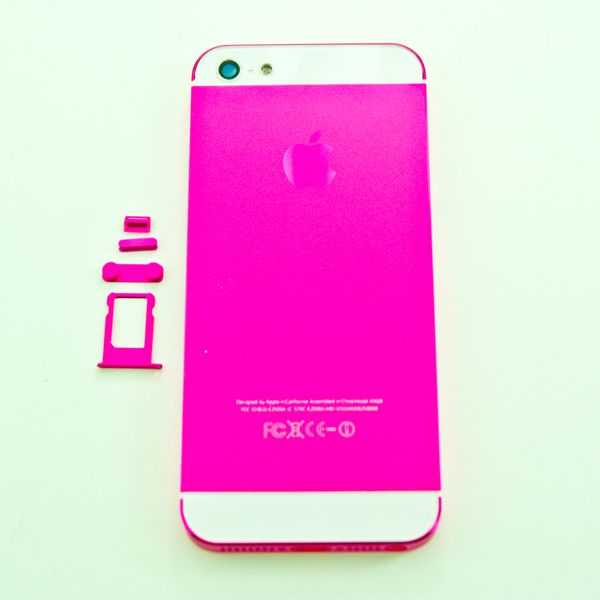 Iphone 5 Pink Color Conversion Kit For Back Housing Http Smartfixparts Com Iphone Parts Iphone 5 Parts Iphone 5 Colorkitpink H Iphone Parts Iphone Iphone 5