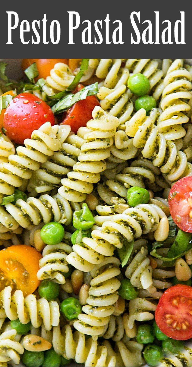 Pesto Pasta Salad Recipe Pesto Pasta Salad Easy Summer Side