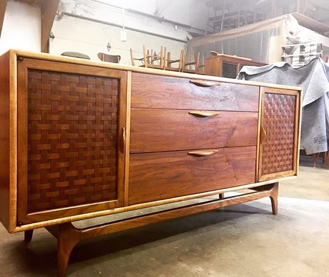 Minneapolis Minnesota Stpaul Mcm Midmod Midcentury Midcenturymodern Lane Credenza Retro Restoration Furniture For Ferrousfurnishings