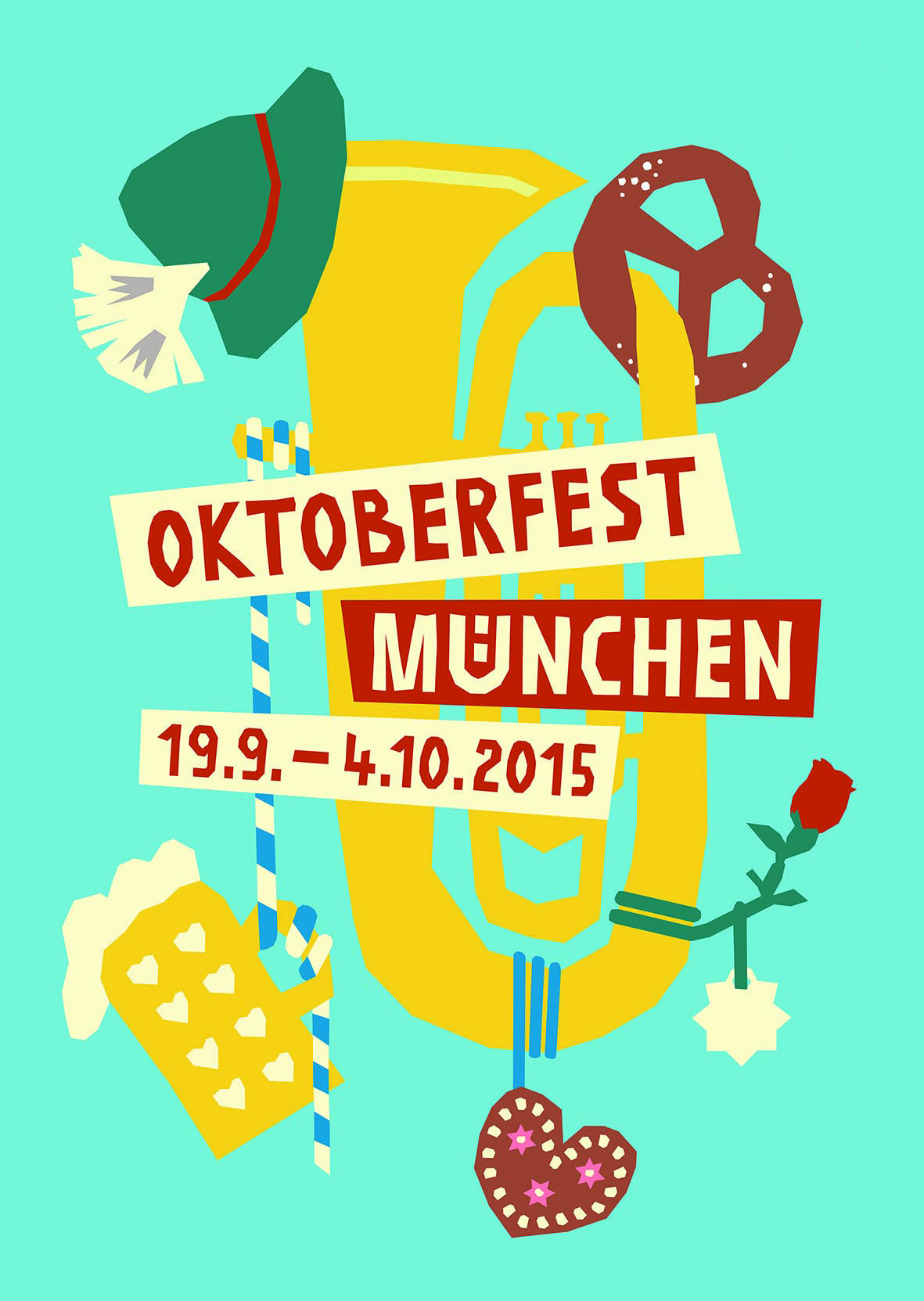 oktoberfest event poster