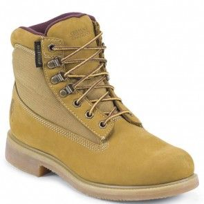 24513 Chippewa Men's Nubuc Work Boots - Golden Tan www.bootbay.com