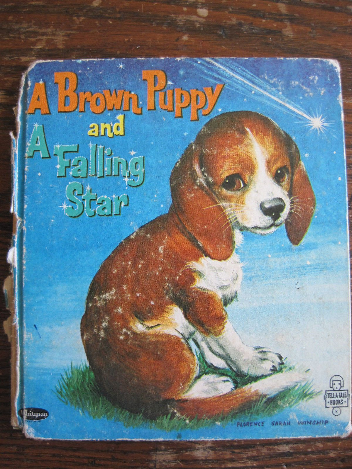 A Brown Puppy And A Falling Star Tell A Tale 1965 By Elizabeth Ross Illus Florence Sarah Winship Children S Picture Books Falling Stars Brown Puppies