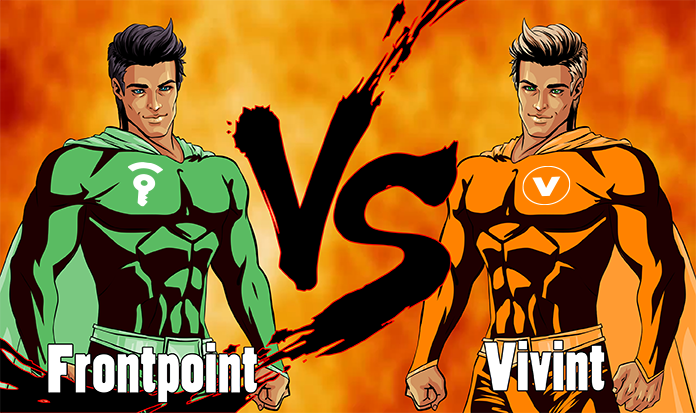 See How Frontpoint And Vivint Security Systems Compare Home Security Experts Give A Side By Side Comparison To Help You Decid Diy Home Security Home Security Systems Adt Security