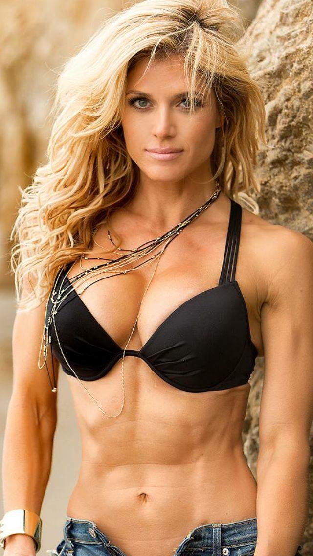 Babe beautiful busty muscle sexy