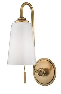 glover hudson valley wall sconce