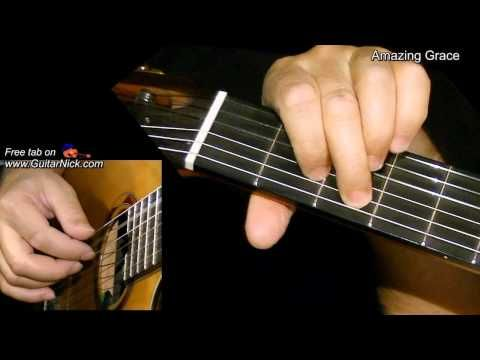 amazing grace fingerstyle guitar tab youtube music fingerstyle guitar lessons. Black Bedroom Furniture Sets. Home Design Ideas