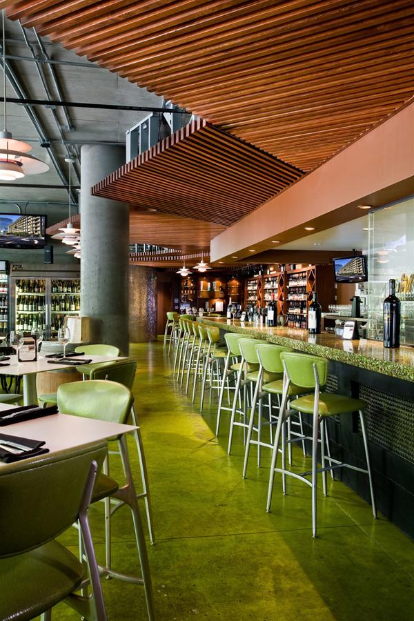 Modern restaurant bar in los angeles california - Interior design colleges in los angeles ...