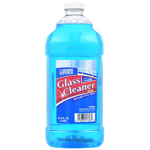The Home Store Glass Cleaner With Ammonia 67 7 Oz Bottles