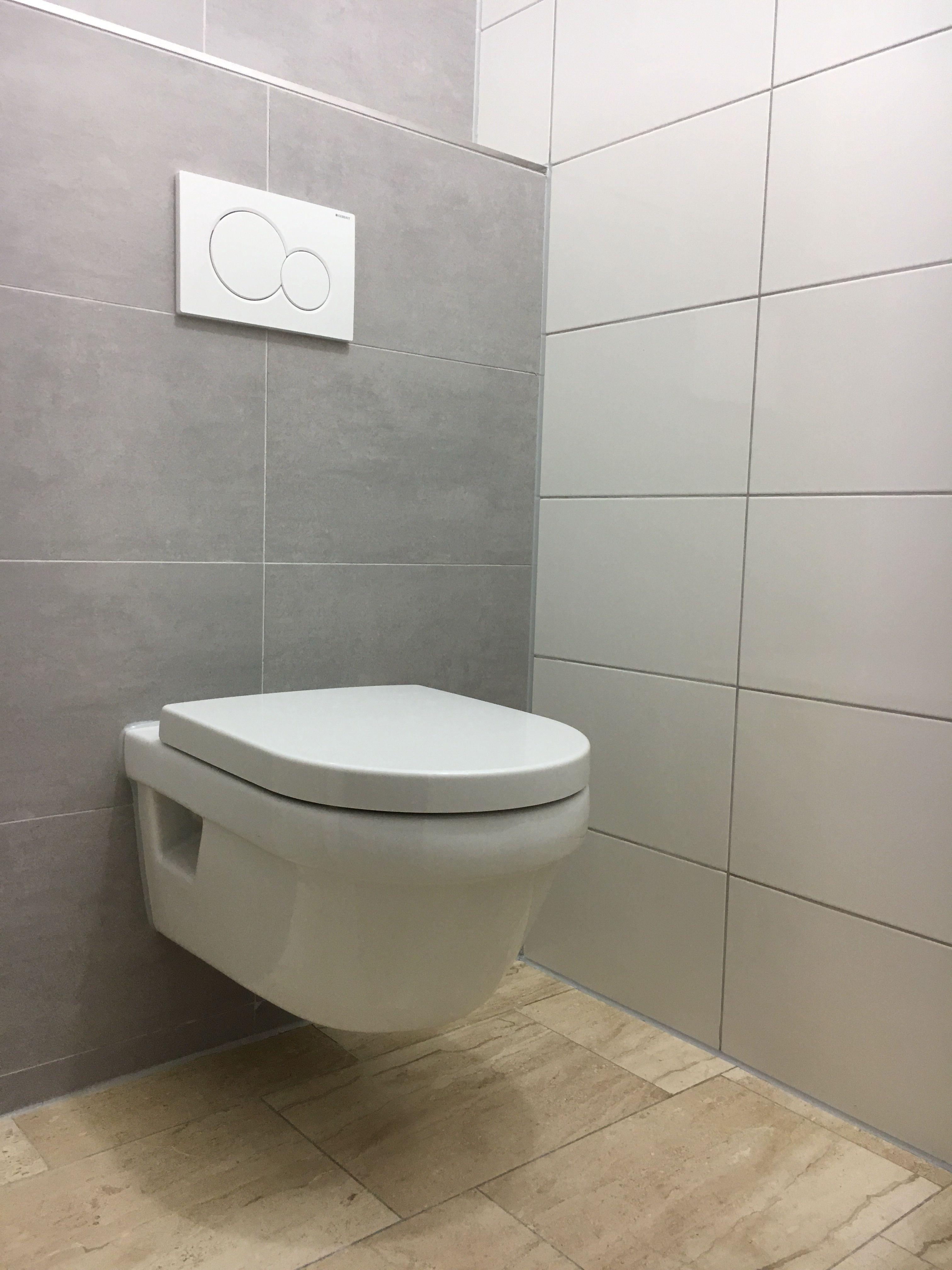 Fontein Toilet Villeroy En Boch.Vernieuwen Toilet Met Wandcloset Villeroy Boch Geberit