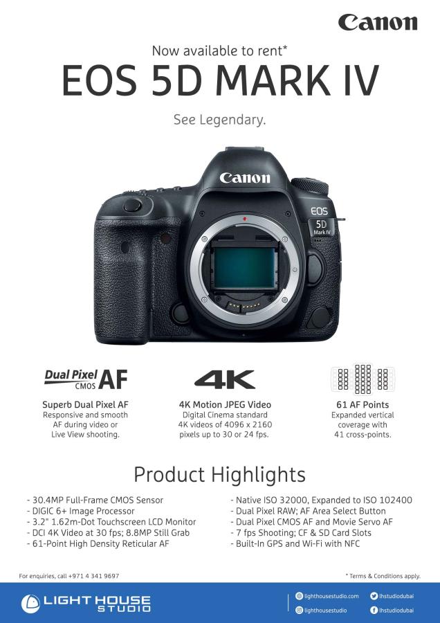 New Gear To Hit Our Shelves Canon 5d Mark Iv Body Product Highlights 30 4mp Full Frame Cmos Sensor Digic 6 Image Proce Cmos Sensor Digital Cinema Marks