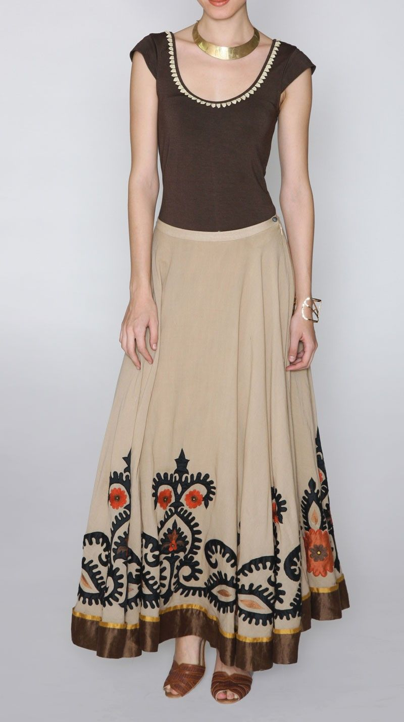 fcff9324a4 Skirts: Buy Long Skirt online at best prices in India - amazon.in