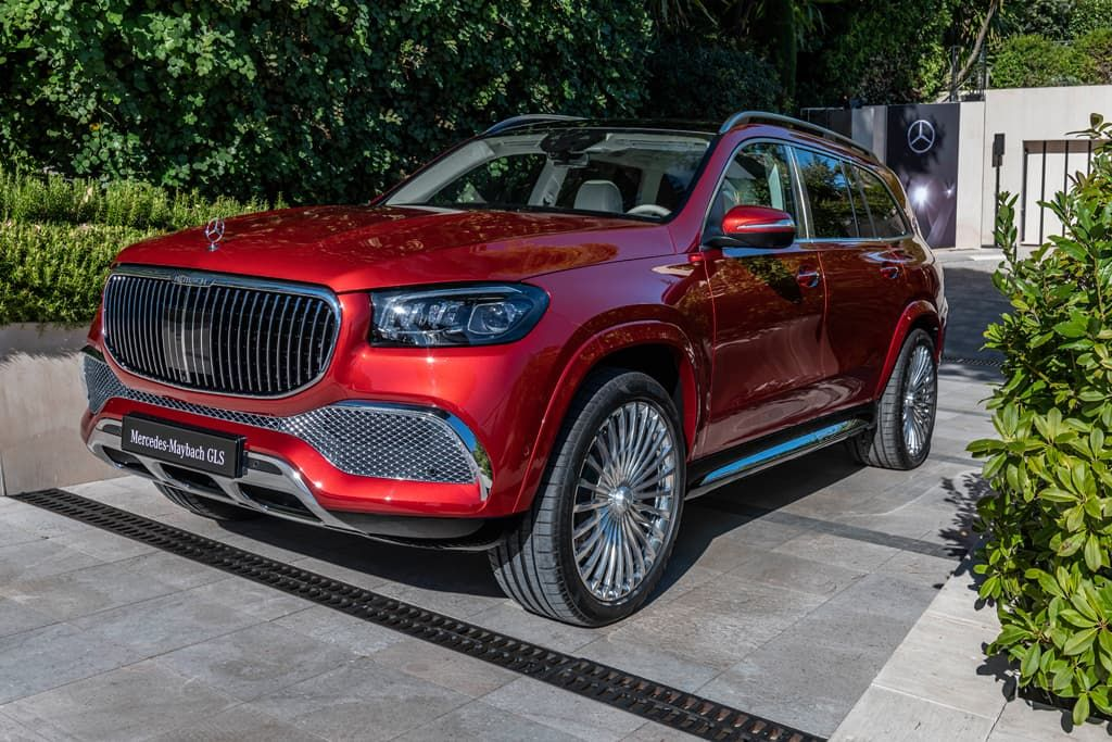 Luxurious V8 Powered Mercedes Maybach Gls 600 Revealed With