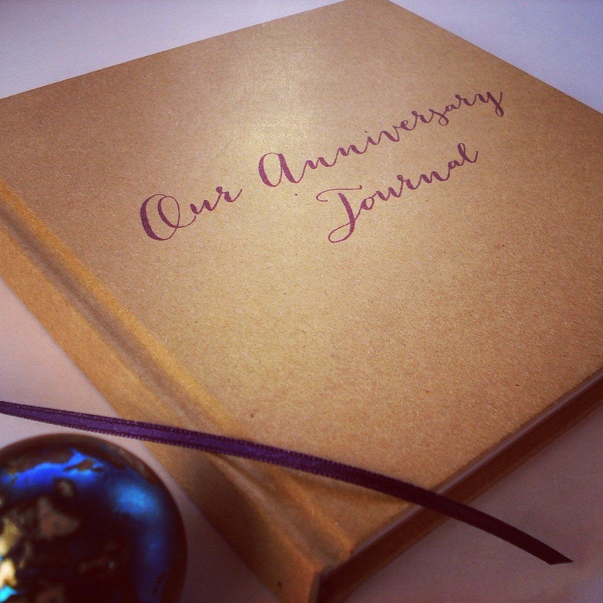 Create your own scrapbook - First Wedding Anniversary Gift