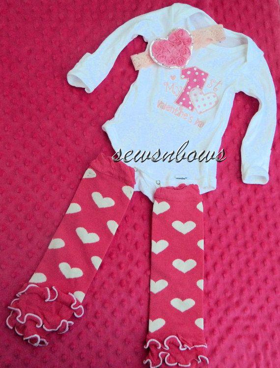 Baby Valentine Shirt Babies First Valentines Day By