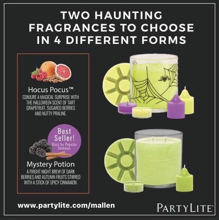 Scents Of Halloween In 2020 Scents One Candle Partylite