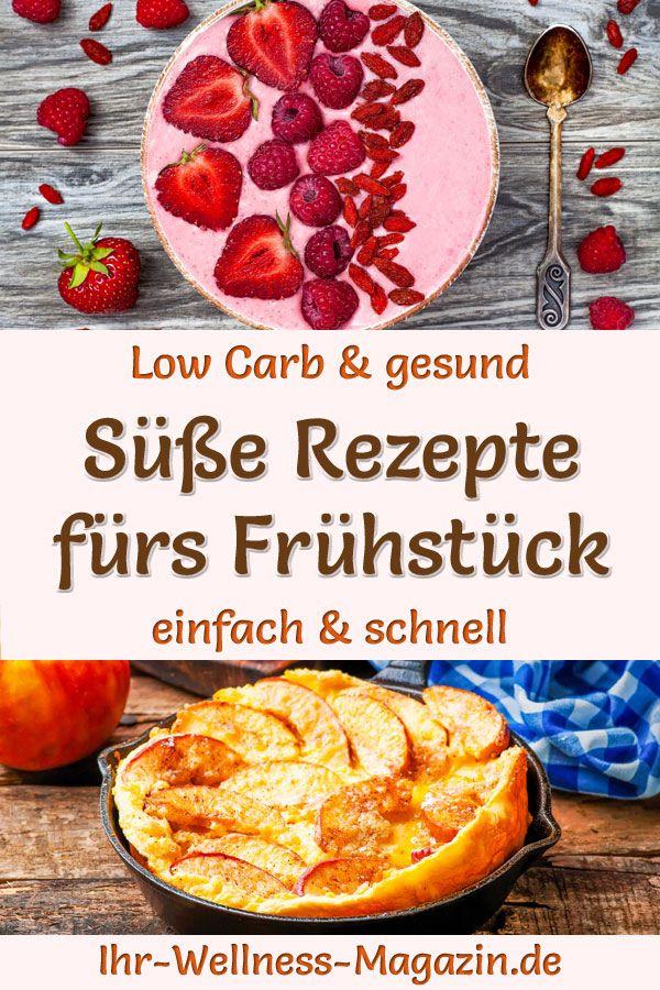 Süßes Low-Carb-Frühstück - 70 gesunde Rezepte & schnelle Ideen