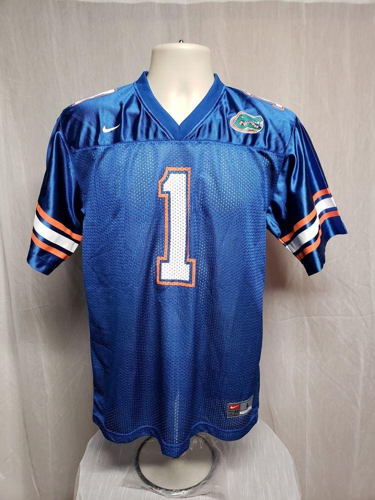 Nike Florida Gators 1 Boys Large Blue Jersey Nike