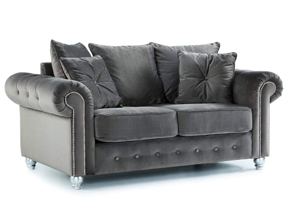 Olympia 4 Seater Sofa Club Cheap Sofa Fast Delivery Fabric