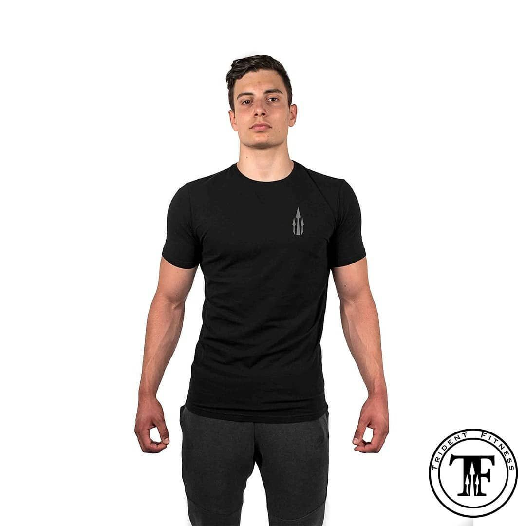 After some new gym gear? Check out our 3 Point Tee in Jet Black♣️ . . . . #gym #fitness #gymwear #gy...