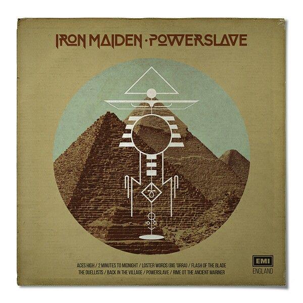 Iron Maiden - Retro redesign