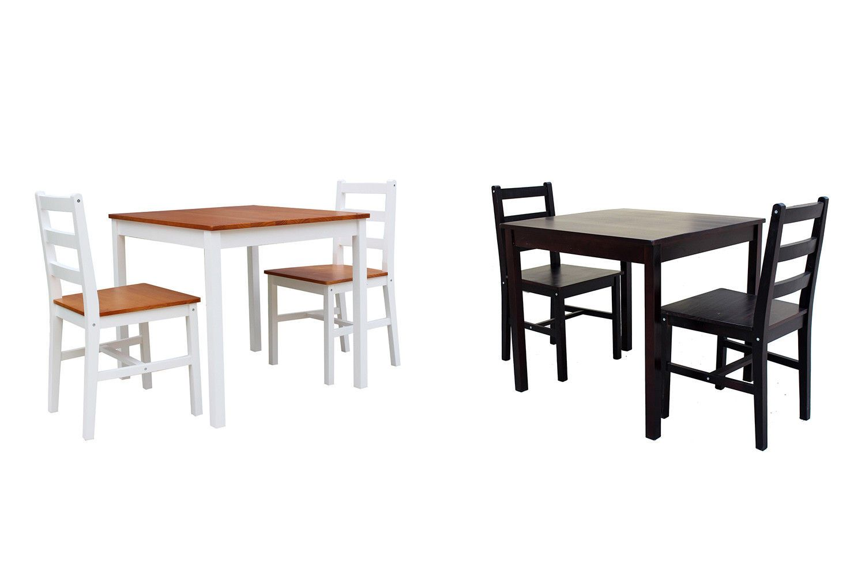 Dining Sets 107578: 3 Piece Dining Table Set Rectangular ...