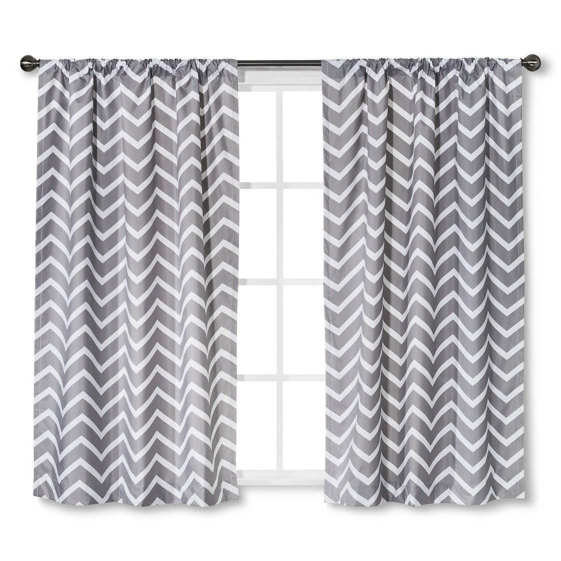 Circo  Curtain Panel Light Blocking Chevron Print