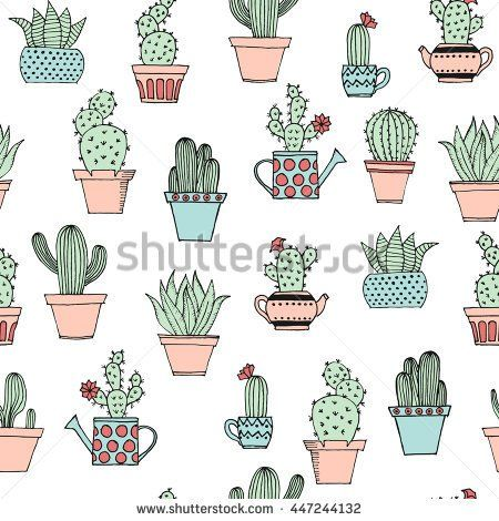 Image by Shutterstock Cactus Collection Women/'s Tee