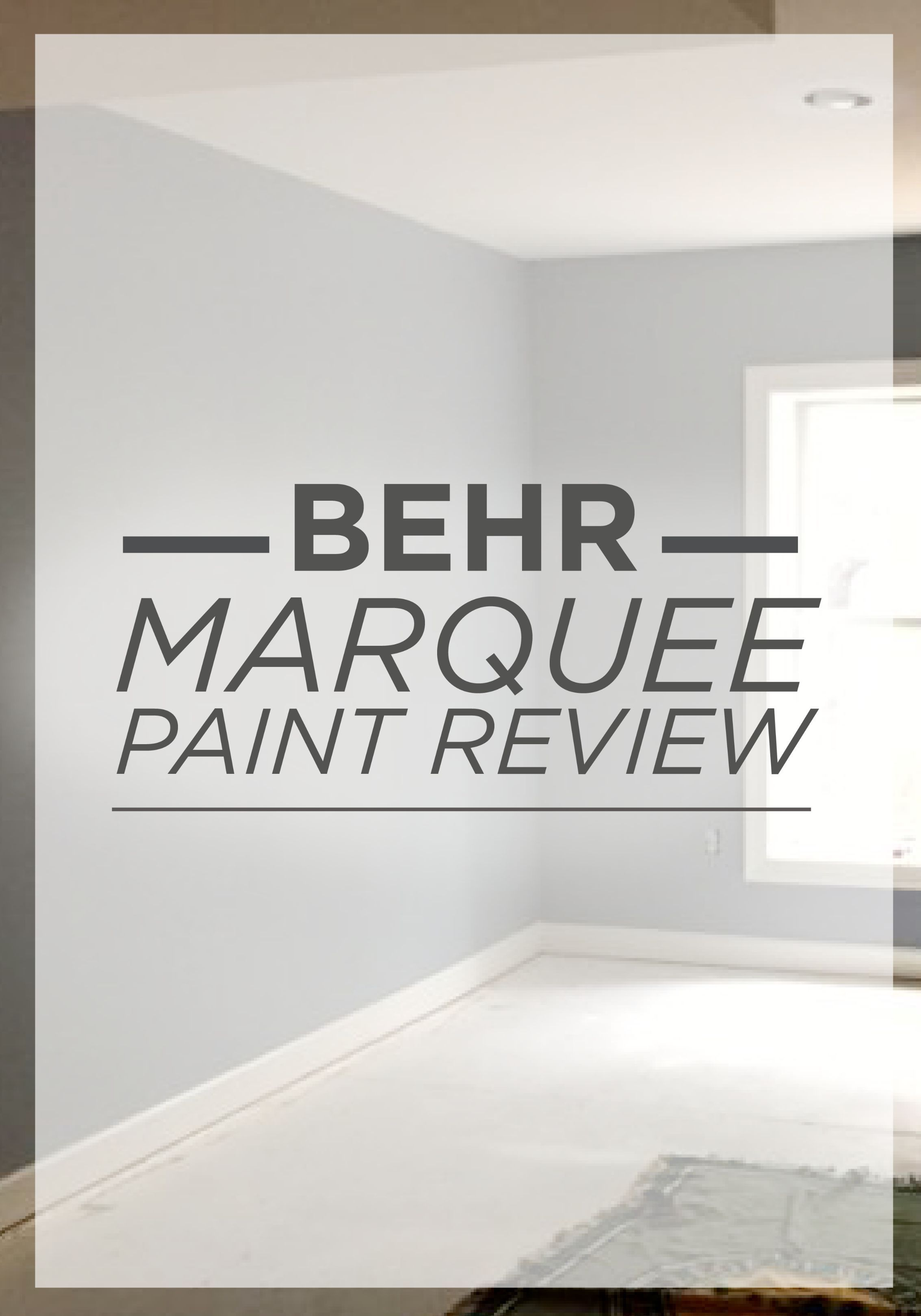 Behr Marquee Review. Behr Paint ReviewsBlack RoomsOne Coat ...