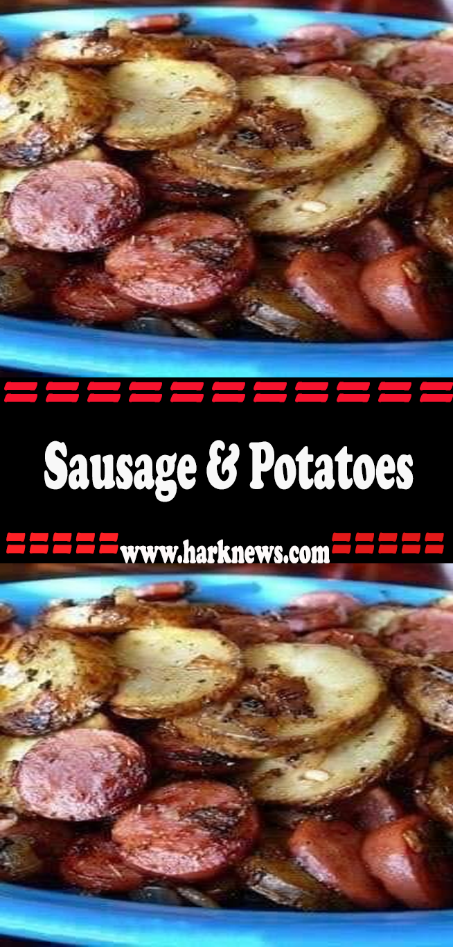 Sausage & Potatoes #russetpotatorecipes