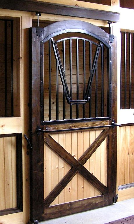 Doors - Really like this stall door!