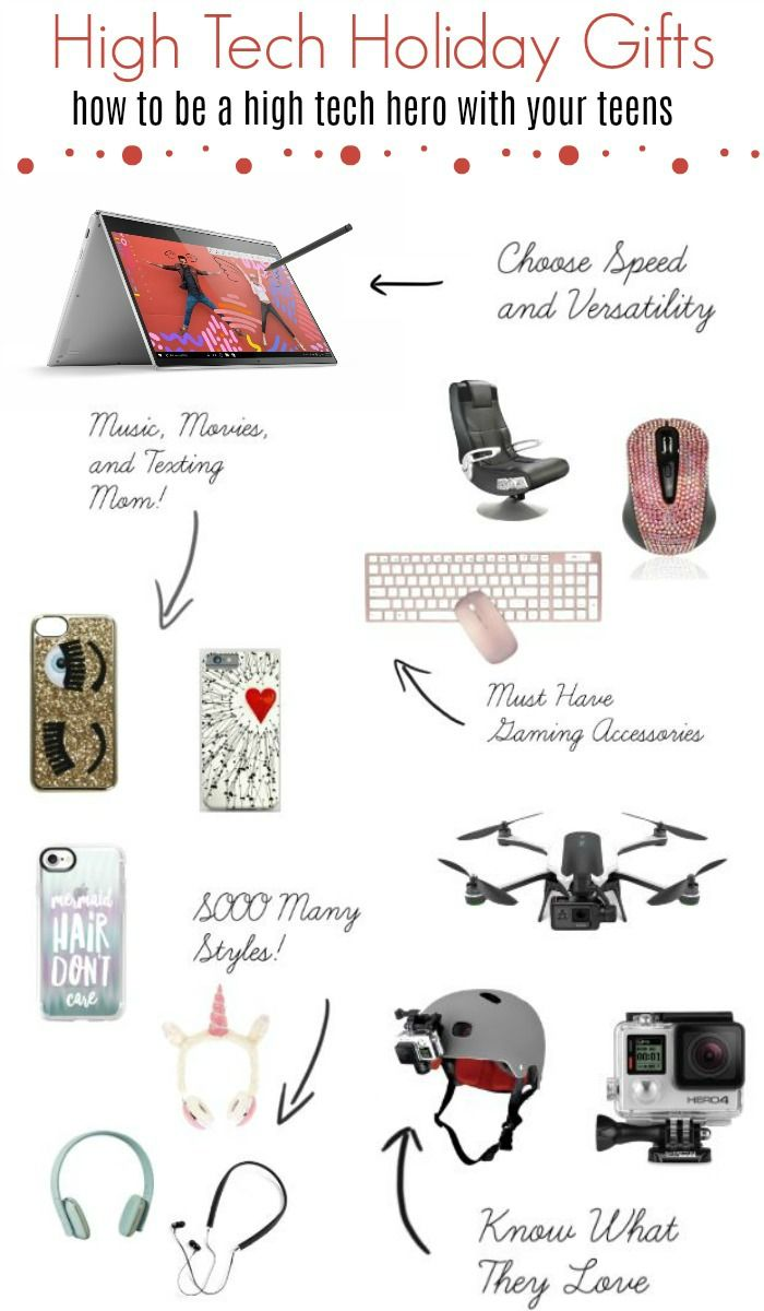 High Tech Holiday Gift Ideas and Shopping Technology for Teens ...