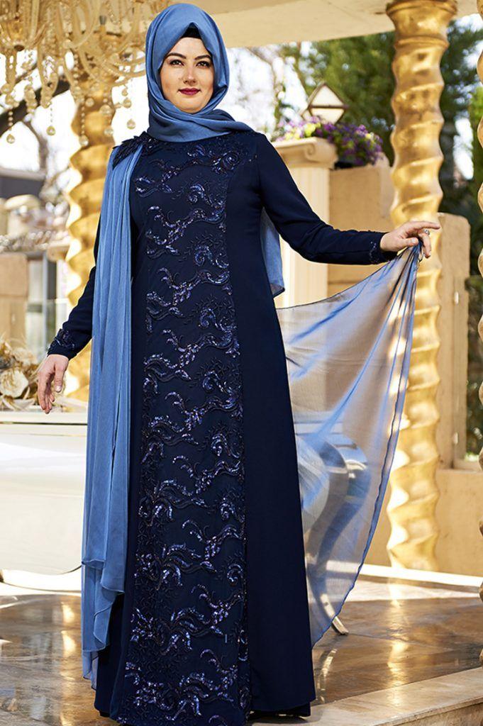 Yepyeni Buyuk Beden Tesettur Abiye Modelleri Elbise Moda Stilleri Elbiseler