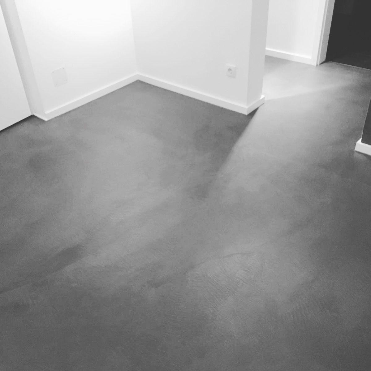 Beton Treppe Eiche Eiche Geolt Bodenbeschichtung D W Holz