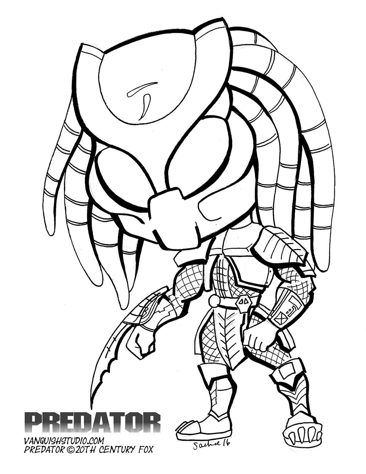 Predator Superhero Coloring Pages Cartoon Coloring Pages Superhero Coloring