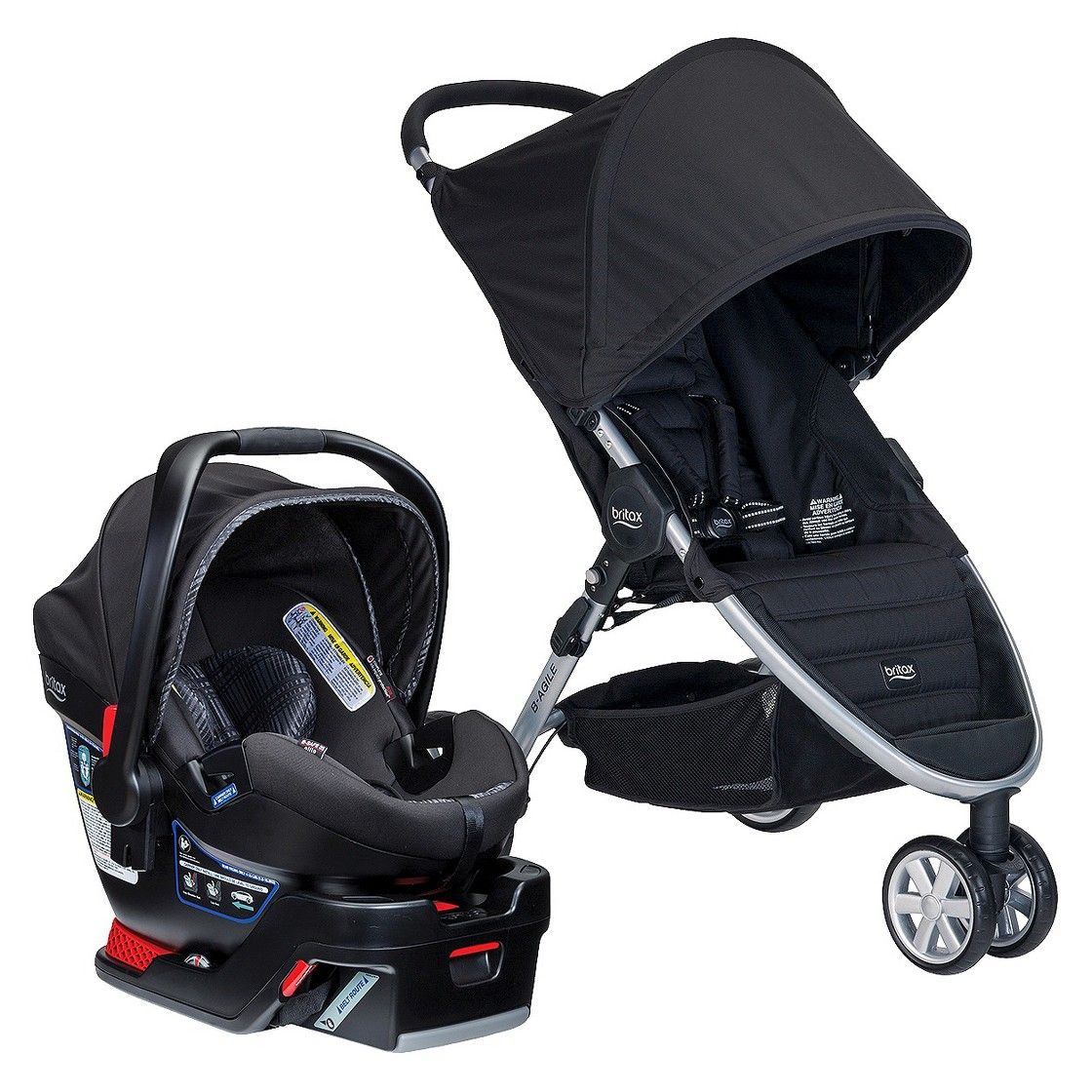 Britax BAgile 3/BSafe 35 Elite Travel System Best baby