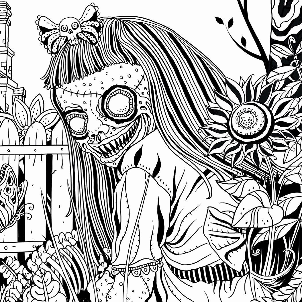 The Beauty Of Horror Coloring Book Elegant Alan Robert On Twitter Meet Ghouliana From The Beauty Of Horror Color Coloring Books Colouring Pages Coloring Pages