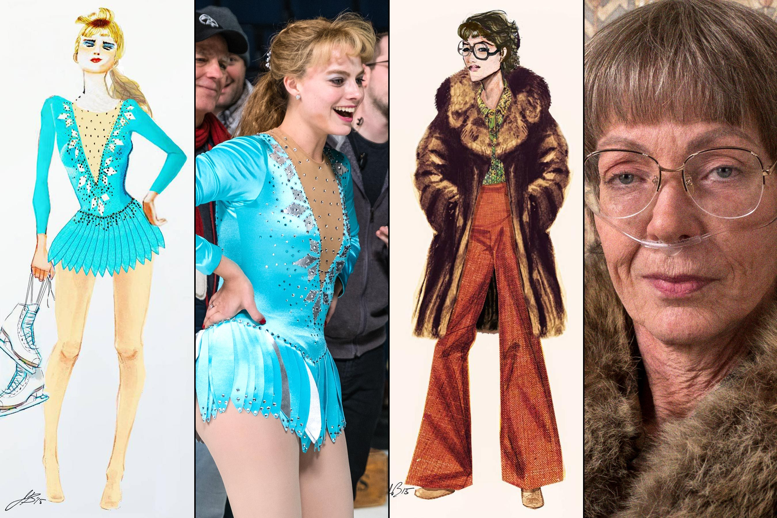 How I Tonya Costume Designer Stitched Sympathy For An Imperfect Outcast Costume Design Tonya Harding Fashion Design Sketch