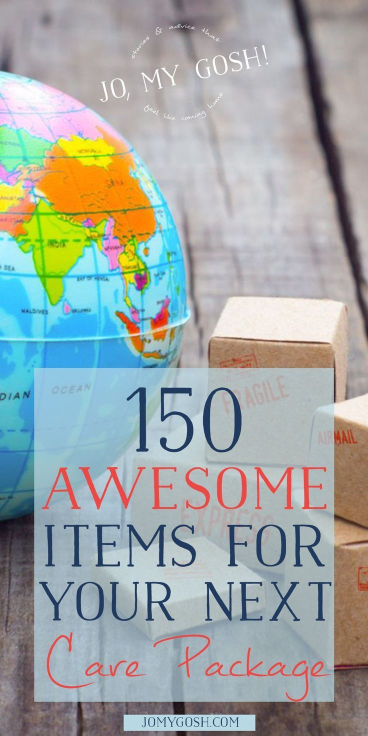 150+ Awesome Care Package Ideas and Items Jo My Gosh