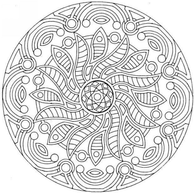 pin by ilona on omalovánky pinterest mandala free printable and