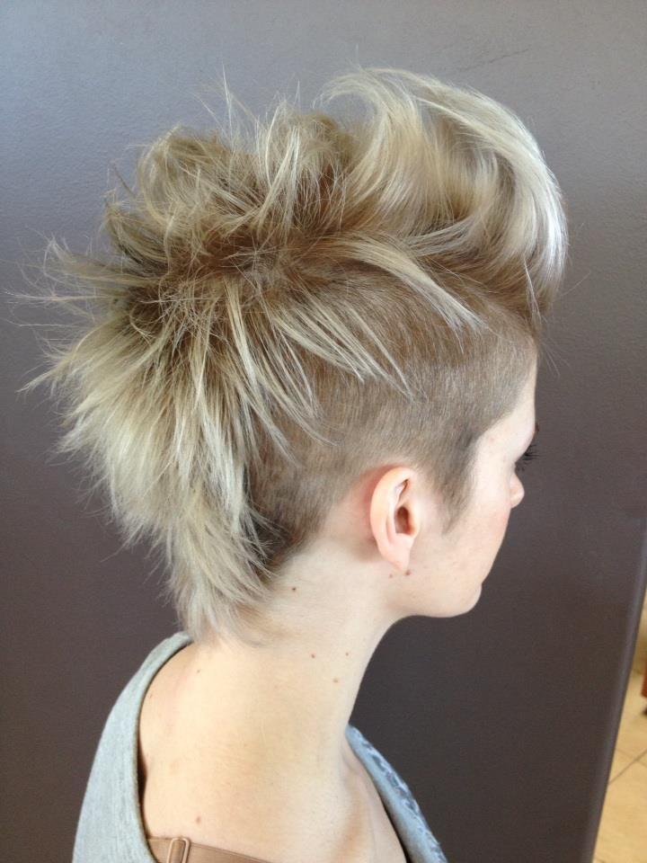 Pixieintomohawkhairstyle Mohawk Pinterest Mohawk Hairstyles