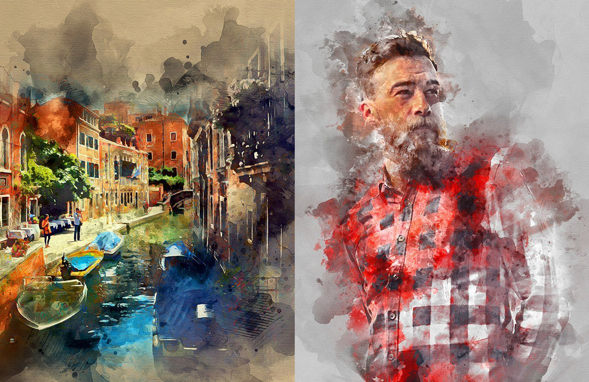 5 Ways To Create Photoshop Watercolor Effects Explained And