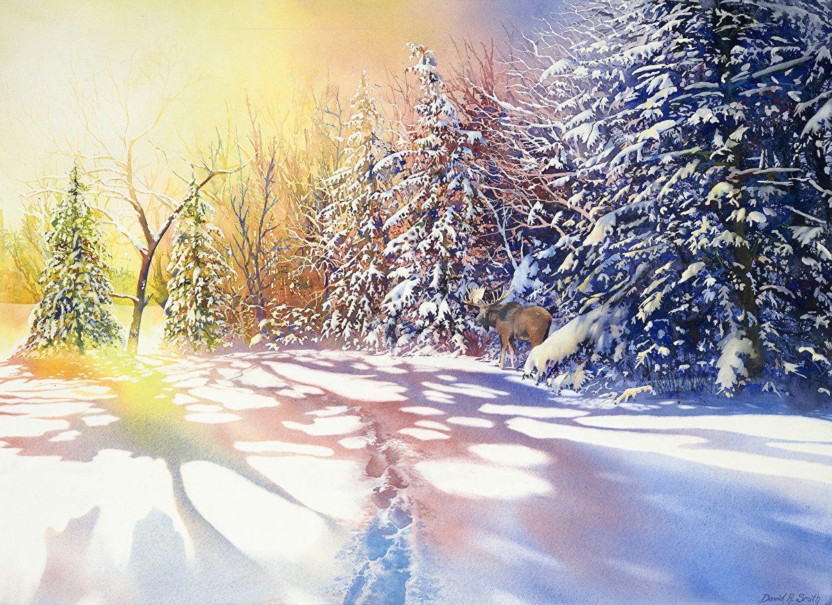 Amazing Watercolour Of David Smith Portfolio Of Works Landscapes David Smith Landscape Watercolor Landscape