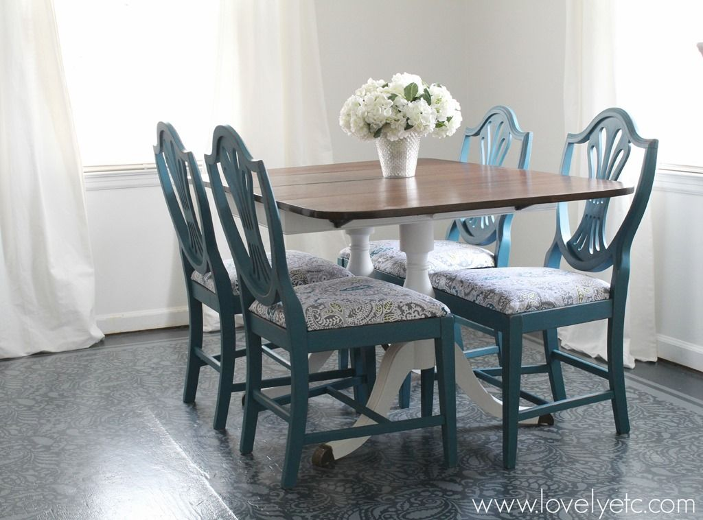 10 Best DIY Projects Of 2014. Painted Plywood FloorsTable And ChairsDining  ...