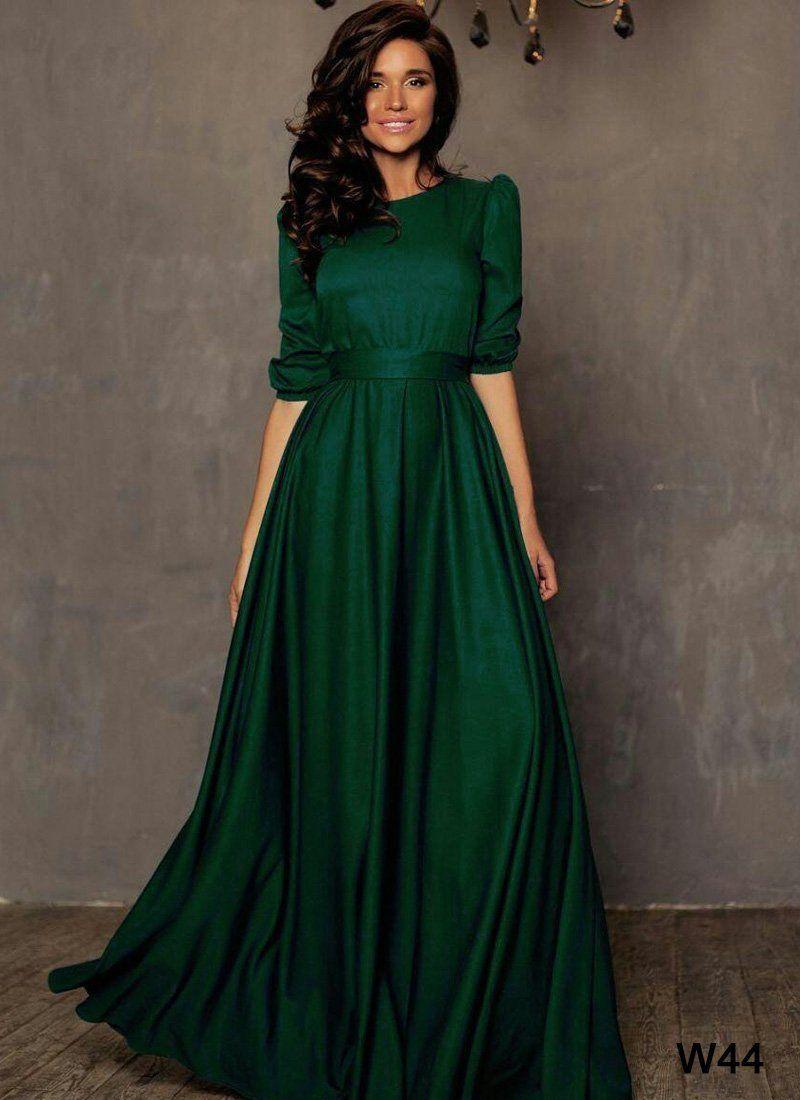 Simple Green Matte Satin Prom Dress Ball Gown Elegant V Neck Long Dress For Prom 2017 Evening Dresses Prom Prom Dresses Long Mermaid Green Prom Dress [ 3600 x 2400 Pixel ]