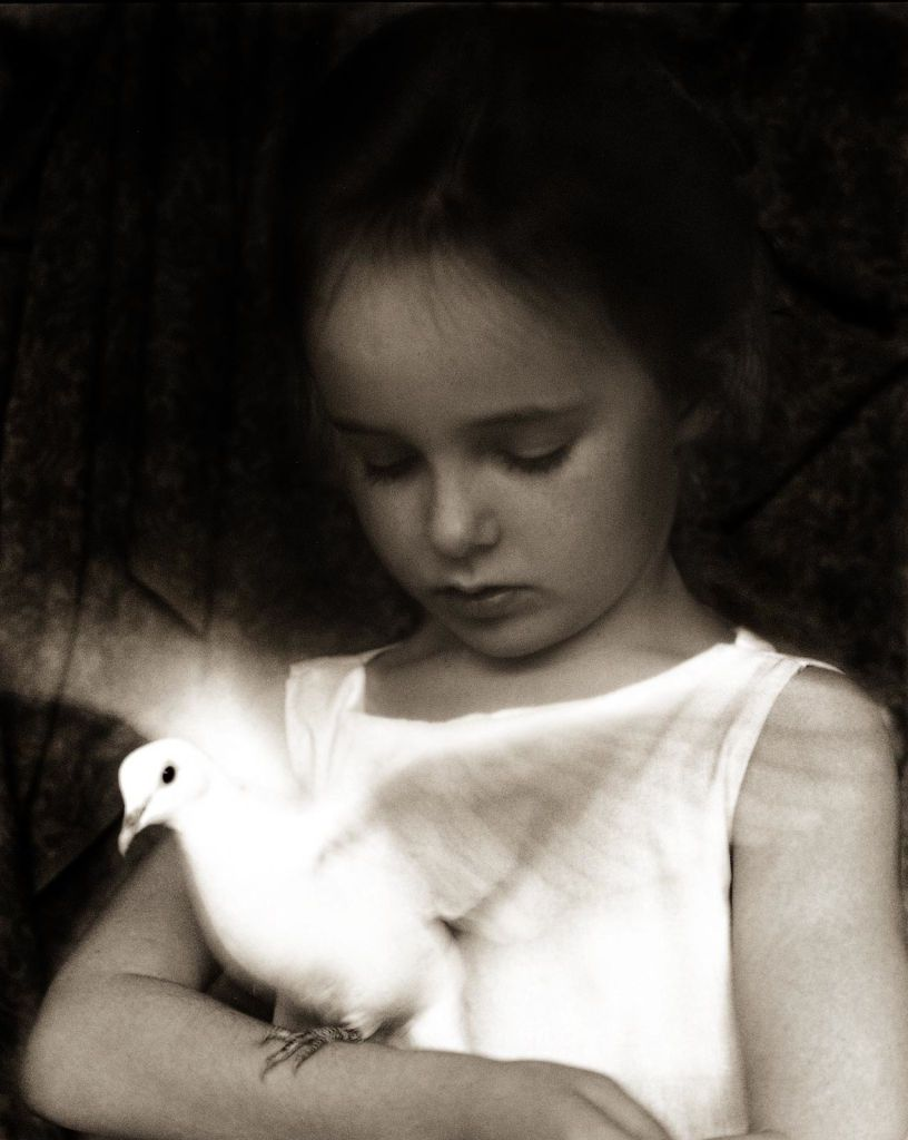"""Beth Moon, """"On Wings of Doves"""""""