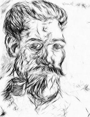 Study of Van Gogh by J. Paulino available at Saatchi Art