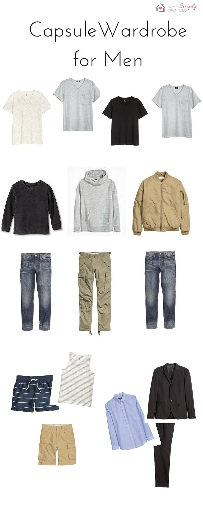 Capsule Wardrobes For Men