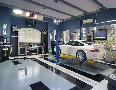 Garajes de lujo verdaderos santuarios a la velocidad y el - Garajes de diseno ...