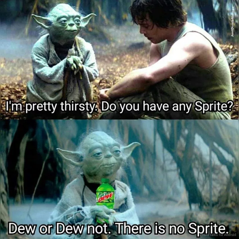 Clean Memes The Best And Most Clean Memes Online Funny Star Wars Memes Star Wars Jokes Star Wars Humor