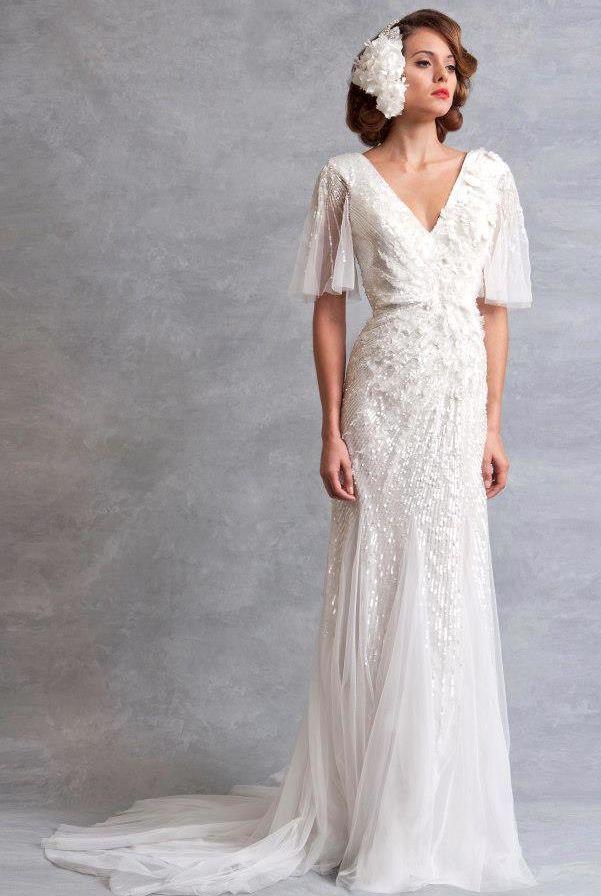 1930s Inspired Wedding Dresses